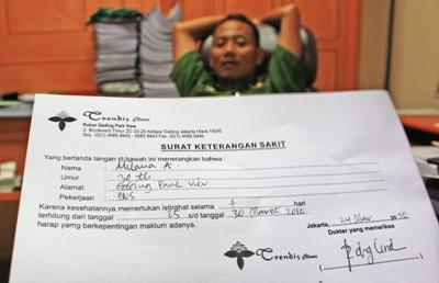Sanksi Jika Menyalahgunakan Surat Keterangan Dokter Tato